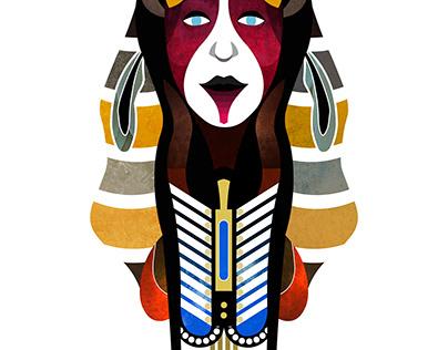 Comanche Spirit Mask