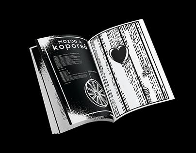 Székely Csaba : Bányavirág Book Design