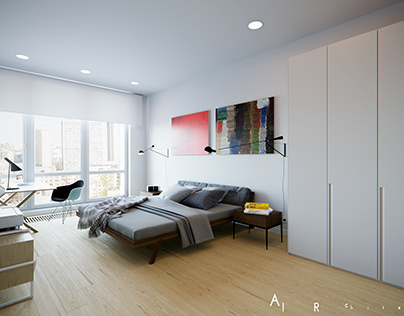Bedroom Architectural Visualization