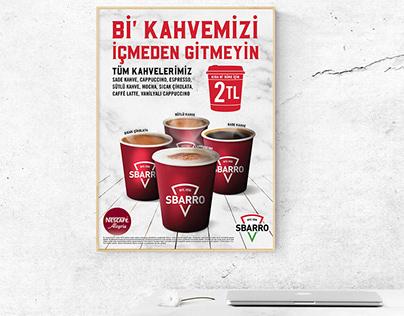 Sbarro® | Coffee Campaign Poster