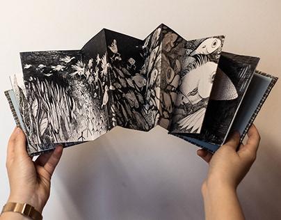 "Artist's book ""Fish"""