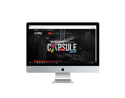 Brand ID - Capsule Fest