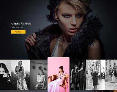 Fashion model website