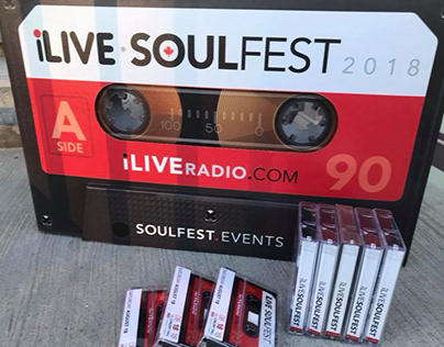 iLive Soulfest Event Branding