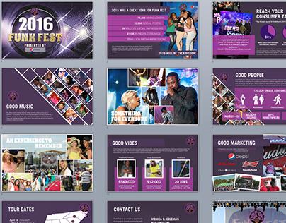 FunkFest Sponsor Deck Redesign