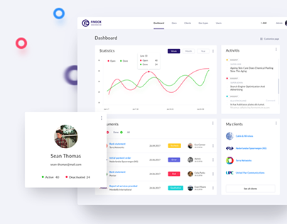 FinDox — Accounting Dashboard