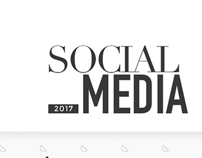 Social Media 2017 - Examples