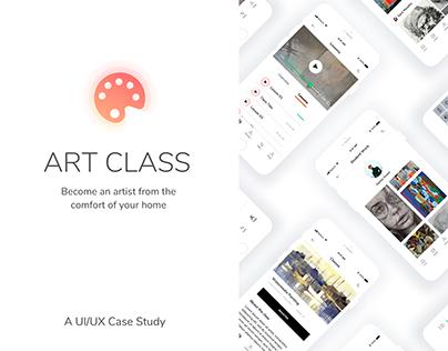 ART CLASS - Art Education App - UI/UX