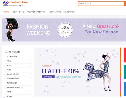 Mudirdukan E-commerce Website