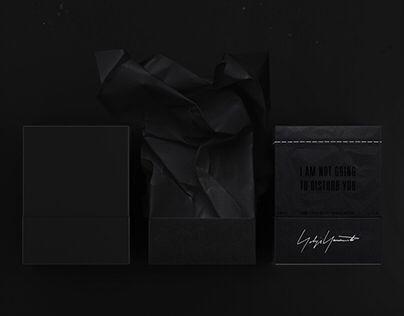 "Yohji Yamamoto ""I am not going to disturb you"" perfume"