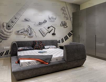 Luxury Residential Interiors in Vikaspuri, Delhi