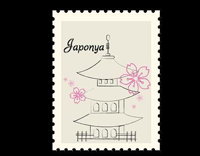 Japon Pul Vize 2 Sınıf