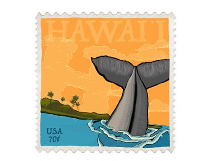 Hawai'i Postage Stamp