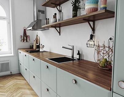 Kitchen Renders, Köksrenderingar