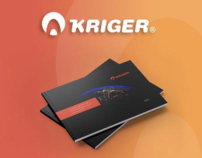 """Брендбук для компании """"KRIGER"""""""