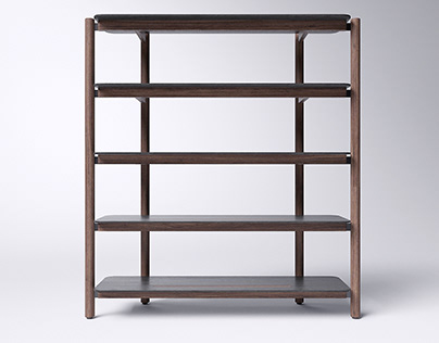 Bookcase FRIENDLY for INSTYLE by Andiy Mohyla