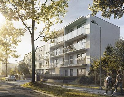 Housing building in Gdynia