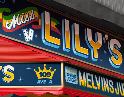 Miss Lily's | Hand Painted Signs