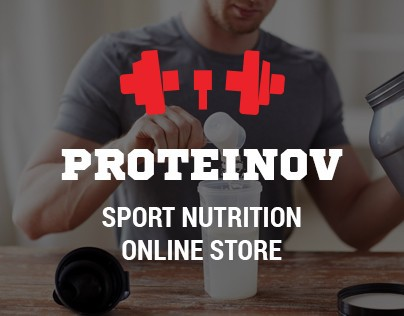 Online store of sports nutrition.