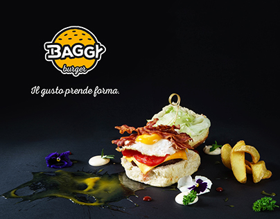 BAGGY BURGER - Il gusto prende forma. © 2017