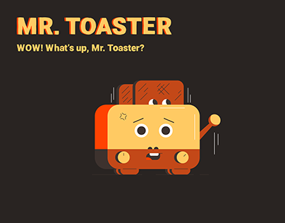 Illustration Mr. Toaster