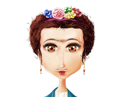 Frida Kahlo - Digital painting