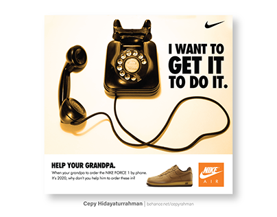 Help Your Grandpa | (Unofficial Nike Air Force 1 Ad)
