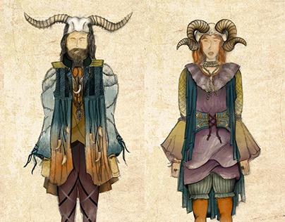 Vestuario - Los gatos de Ulthar de H. P. Lovecraft