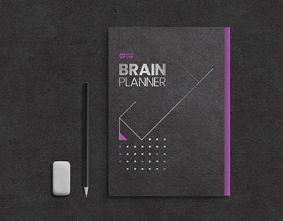 """Book Design """"Brain Planner"""""""