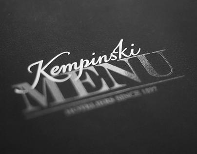 F&B Austria Exam: Kempinski Menu
