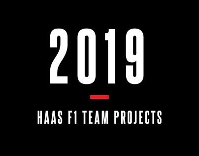 2019 Haas F1 Team Projects
