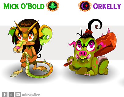 Orc and Kobold Baby Stage