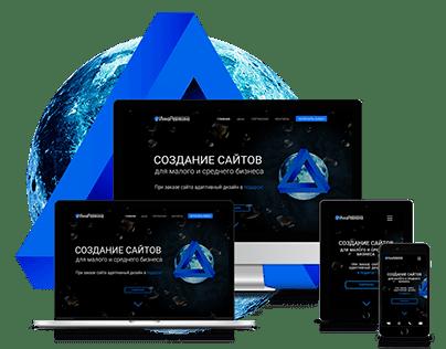 Сайт для web-дизайнера | Business card site