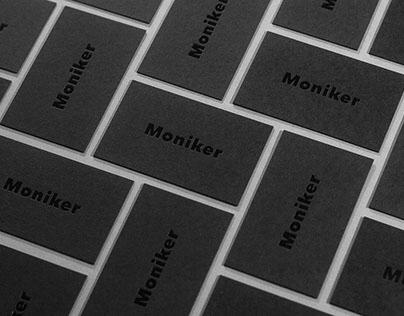 Black Hot Foil Printing on Colorplan Ebony Black Paper