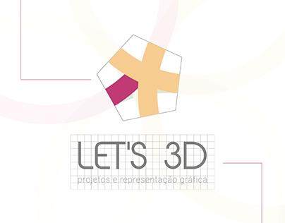 LET'S 3D - Branding