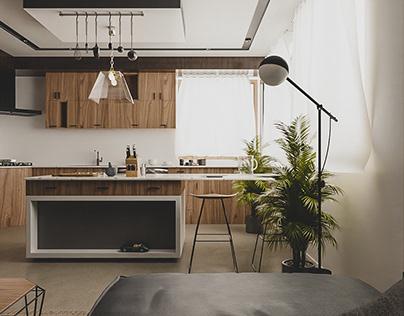 Interior / Kitchen, Palestine