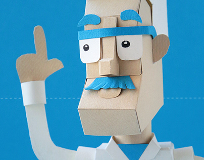 Papercut character - Doctor