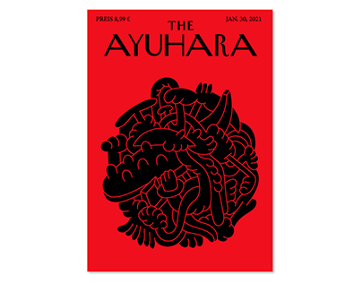 THE AYUHARA (Coverdesign)