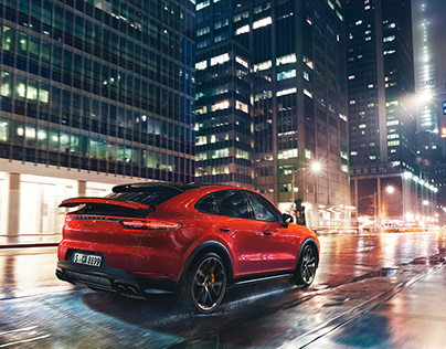 Porsche Cayenne Coupe October 2018, NYC
