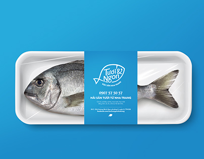 Tuoi & Ngon - Seafood store | Brand Identity