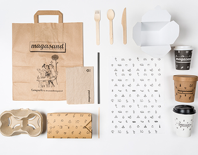 Magasand Branding & Illustration