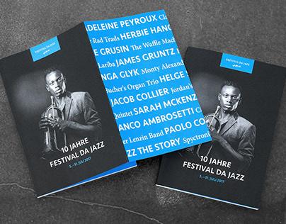 Festival da Jazz Rebranding