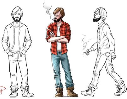 Comic Character / Diseño Personajes Cómic / Concept