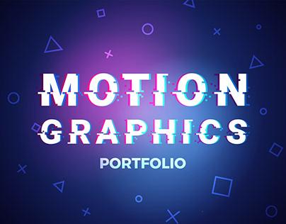 Video& Motion Graphics Portfolio
