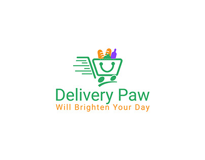 Grocery Shop Delivery Logo