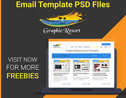Download Free Email Templates PSD & Templates
