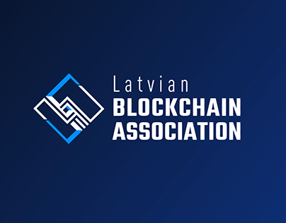 Latvian Blockchain Association logo