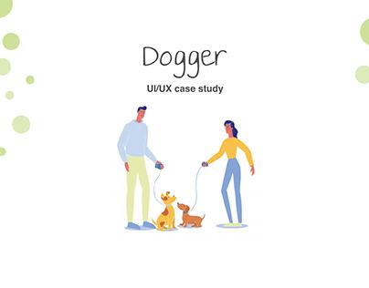 Dogger - mobile pet app UI UX Case study