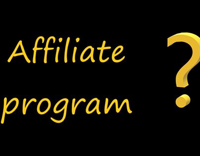 Why affiliate program?