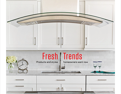 Fresh Trends magazine design